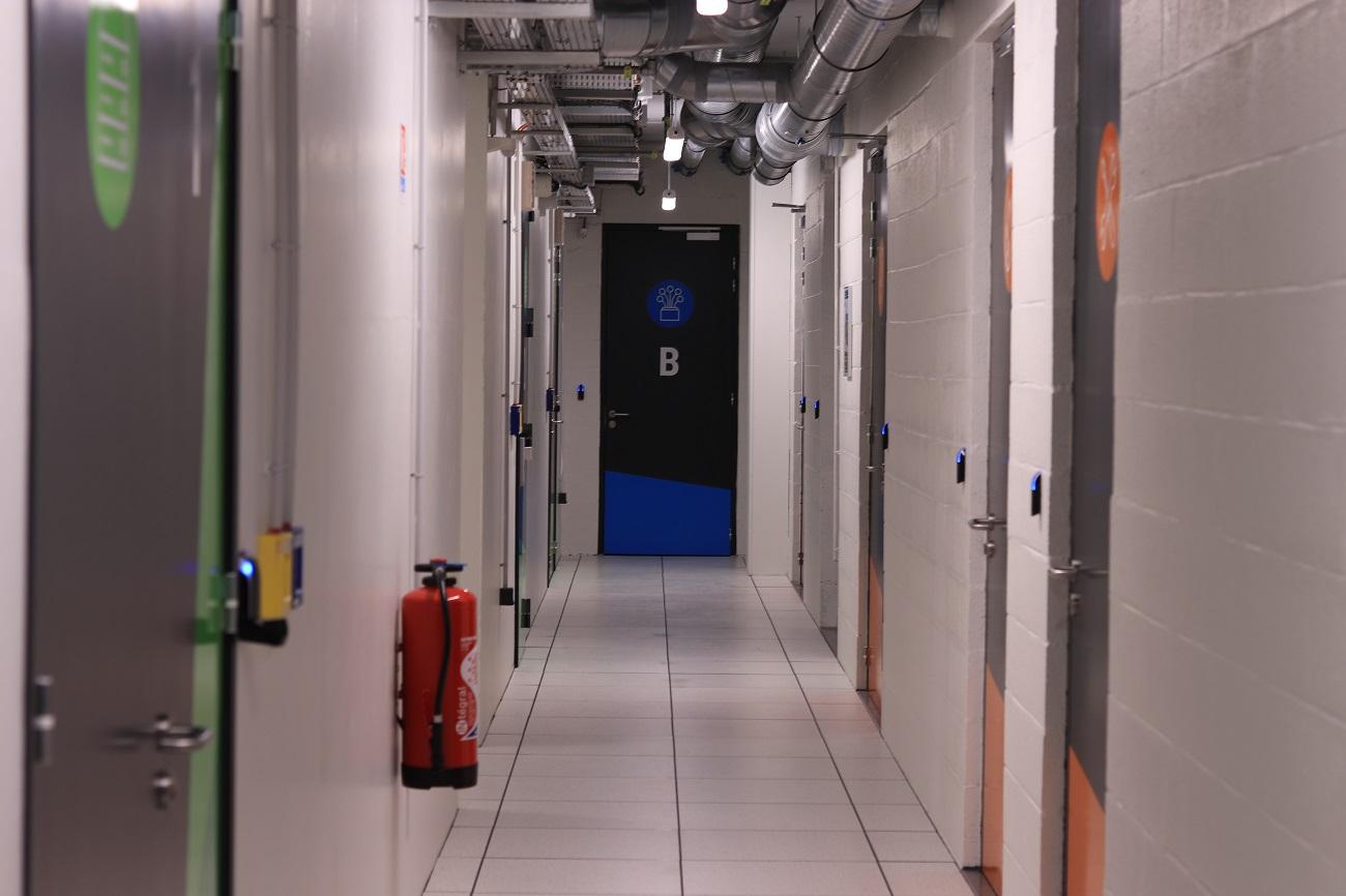 DTiX - Datacenter de colocation - Couloir technique